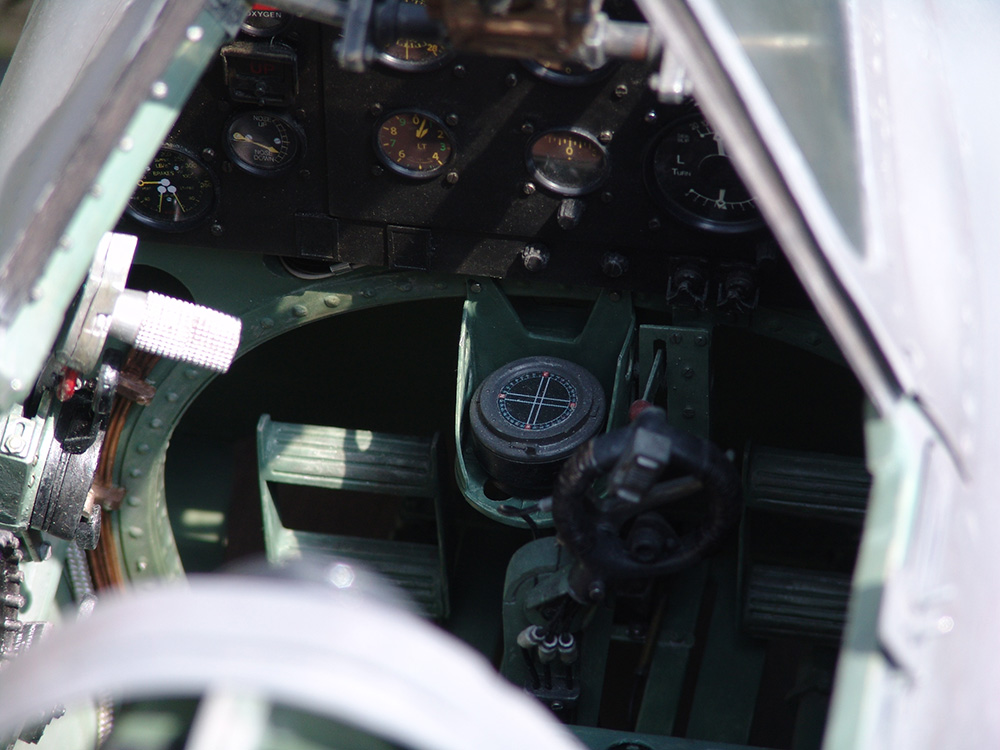 Scale Cockpits von Meisterhand - Auftragsmodellbau Warbird