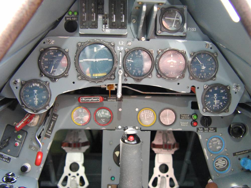 Scale Cockpit FW-190 A8 Modellbauservice