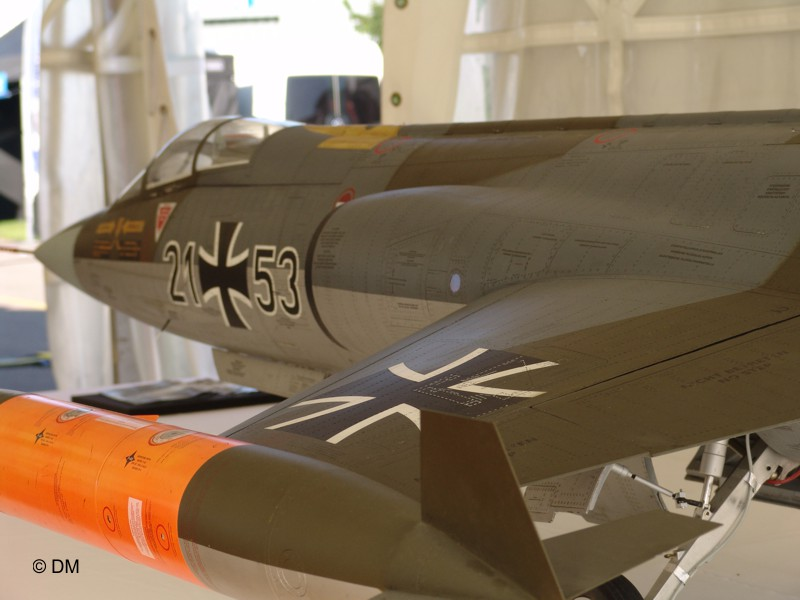 F-104 Starfighter-RC-Jet-Modellbauservice