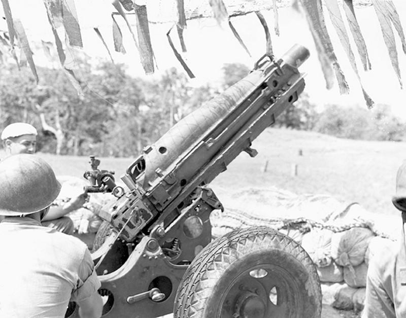 Britische Howitzer M1A1- Pak Howitzer Mark 1