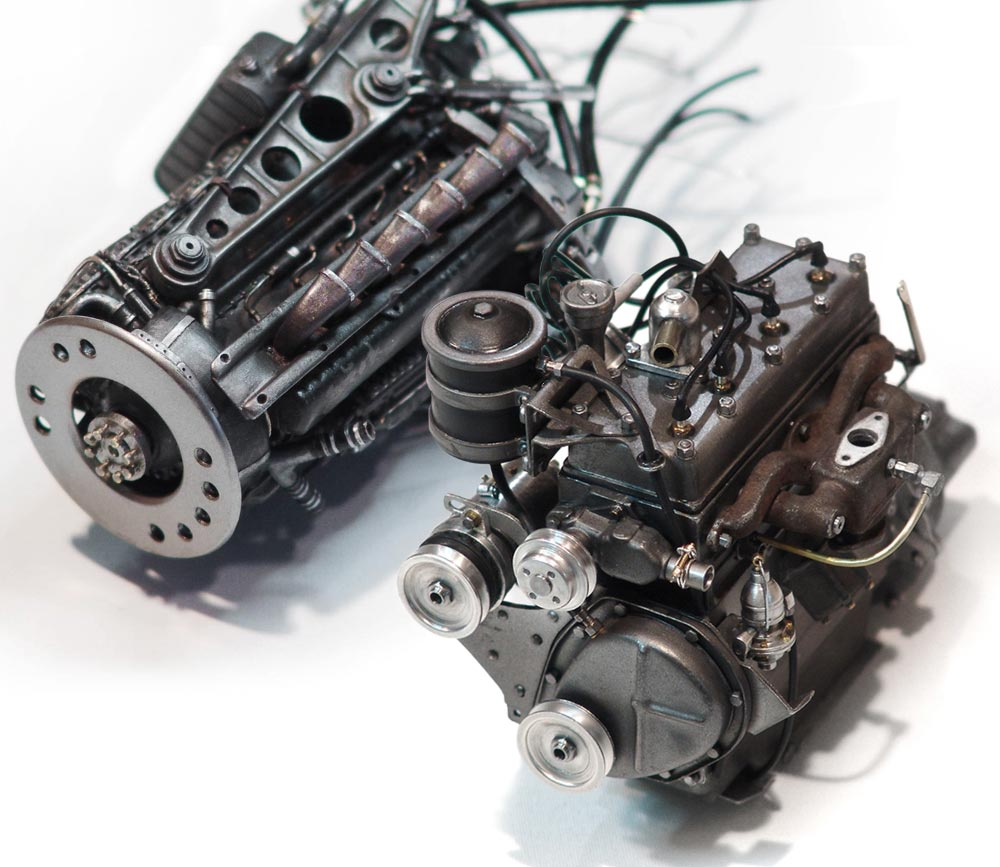 auftragsarbeiten-Modellmotorenbau