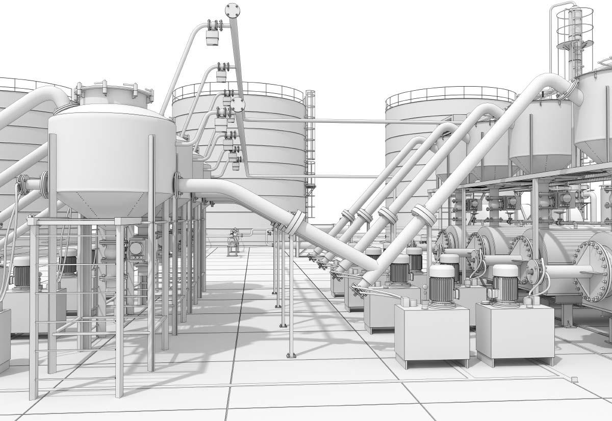 Industriemodellbau- Modell für Industrie und Architektur