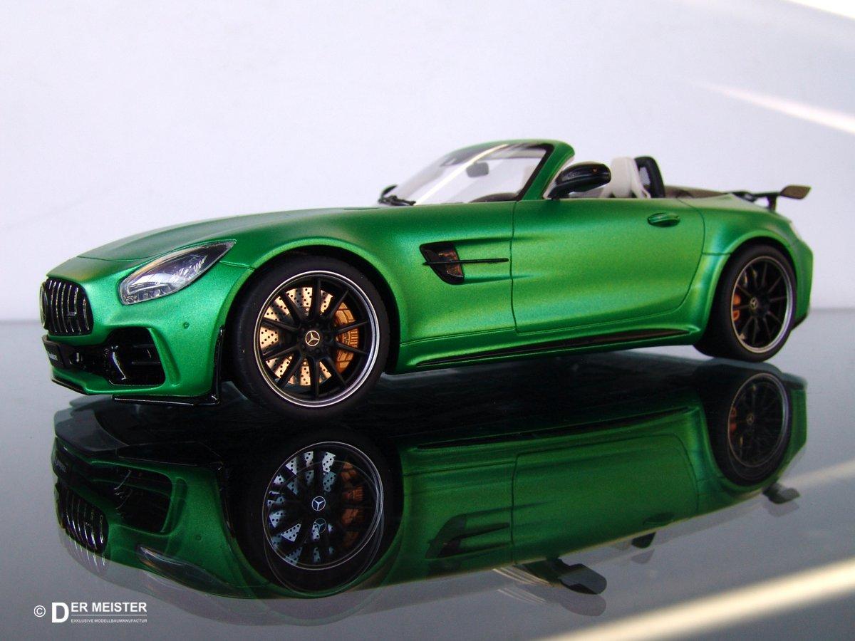 Modellauto-Lackierung-Fahrzeugmodelle-AMG Mercedes