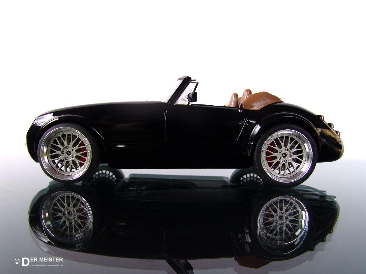 Modellauto Lackierung
