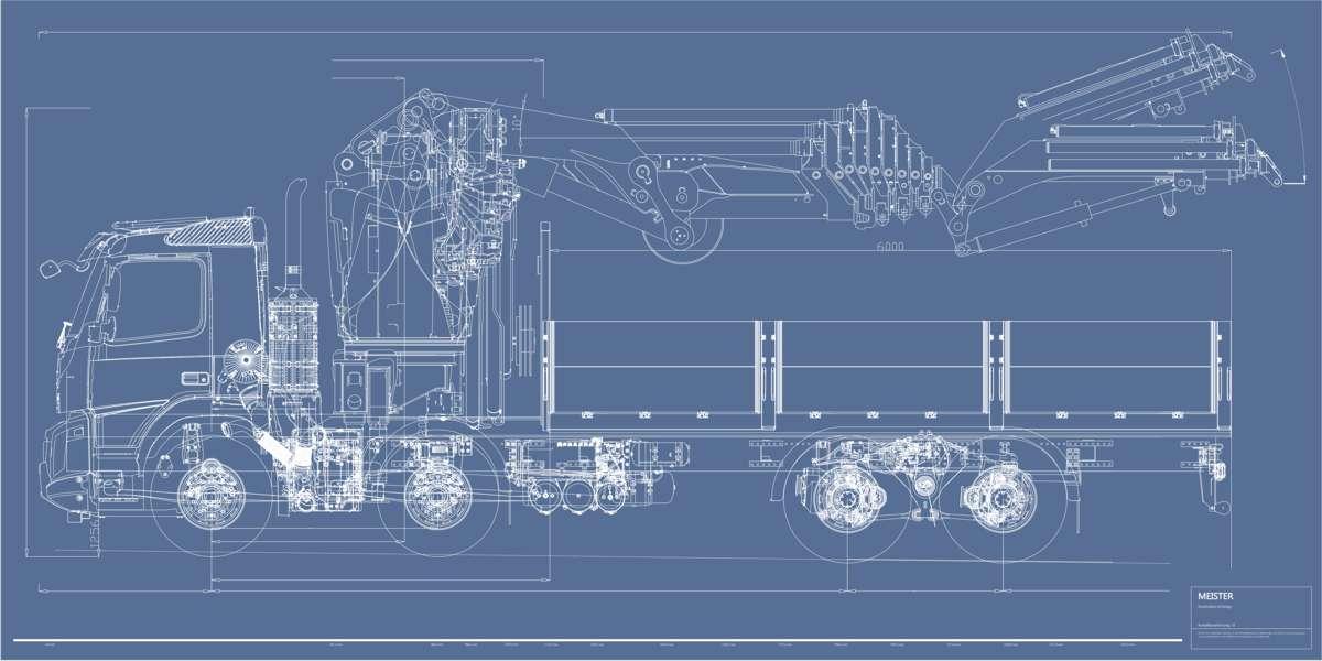 Modellbau Auftragsarbeit Modellbauservice LKW Modellbau