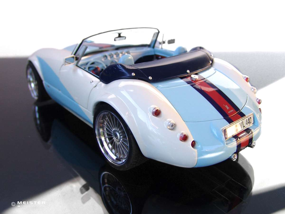 Modellautos Lackierservice Wiesmann Roadster