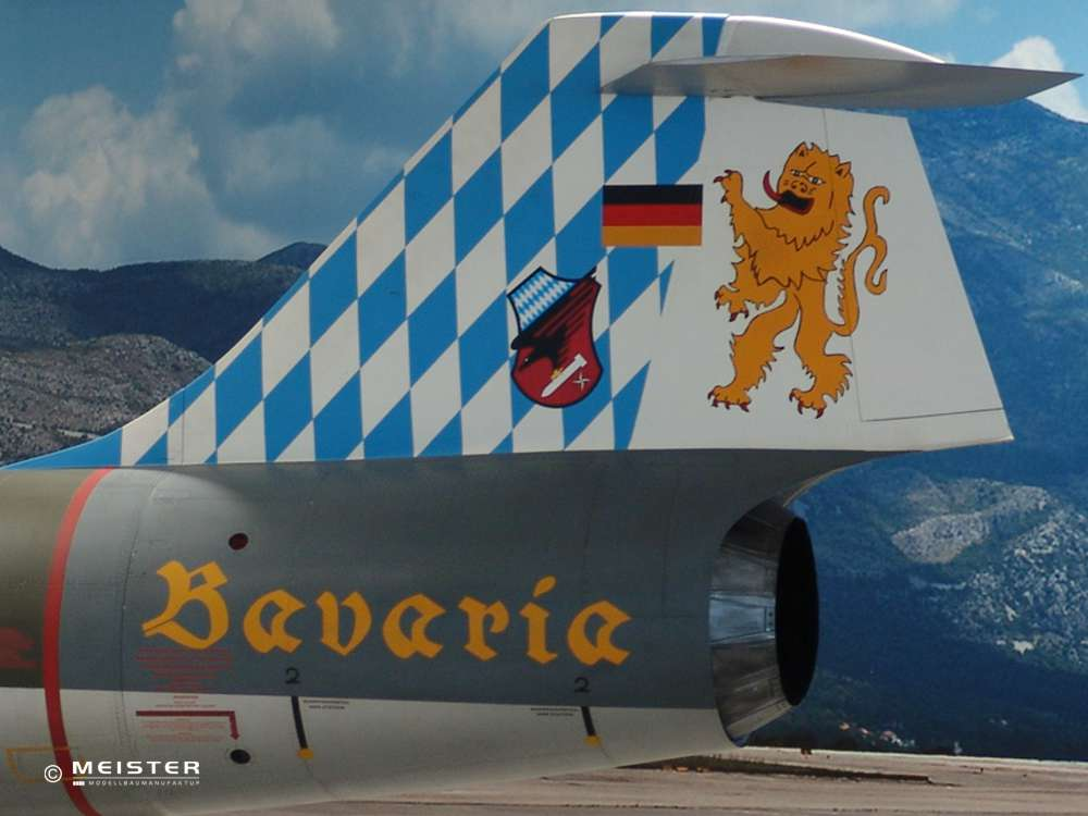Lackierservice_Flugzeugmodelle_Starfighter F-104
