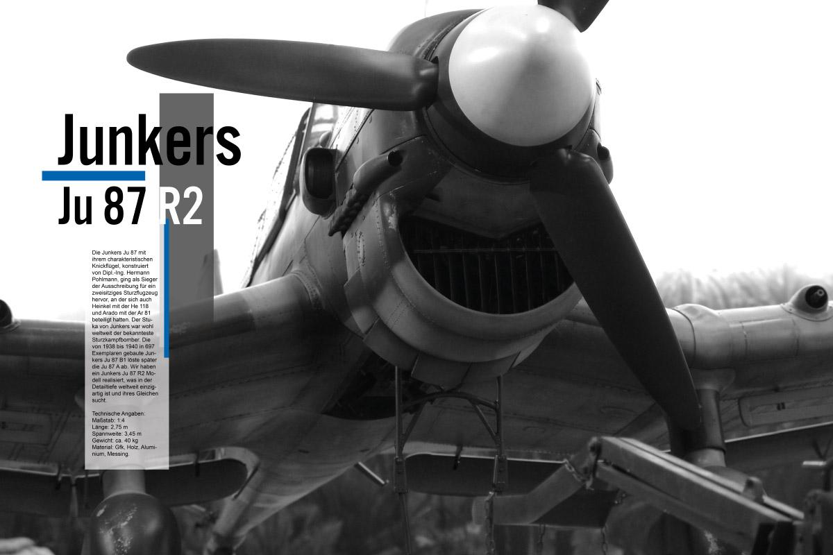 Modellbau Warbird junkers ju 87