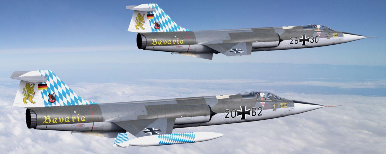 F-104 Starfighter Modellbauservice Flugmodelle